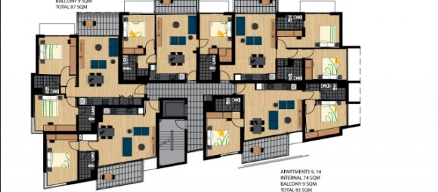 Level 2 & 3 floor plan