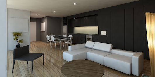 Pent Apartment Interior